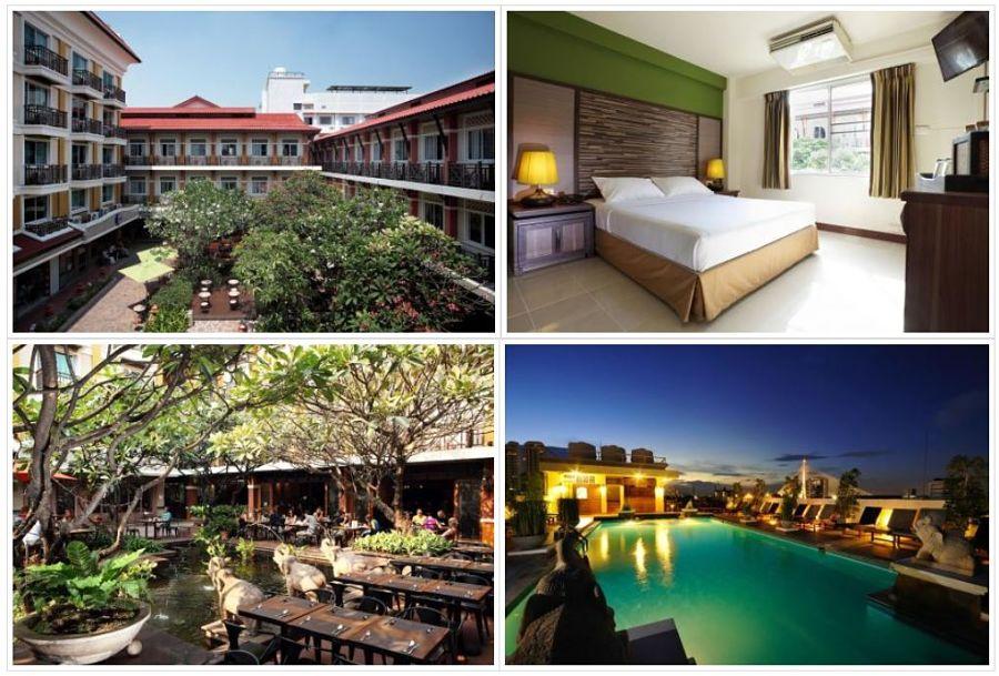 Dónde quedarse a dormir en Bangkok