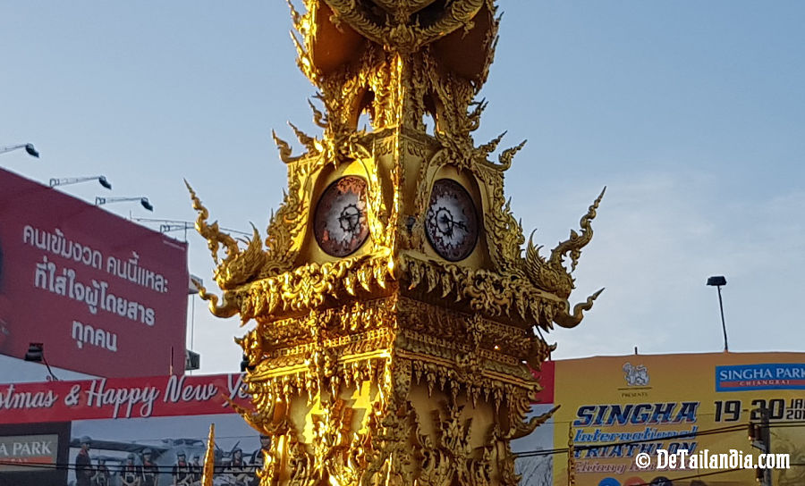 Reloj de Chiang Rai