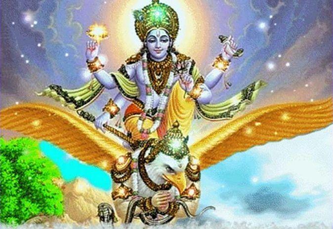 Representación Hindú de Garuda
