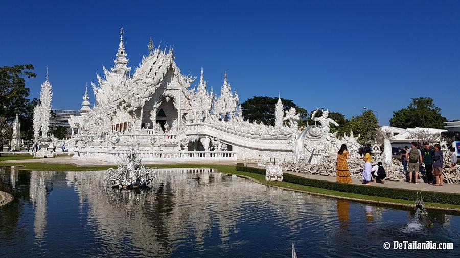 Templo Blanco de Chiang Rai - Wat Rong Khun