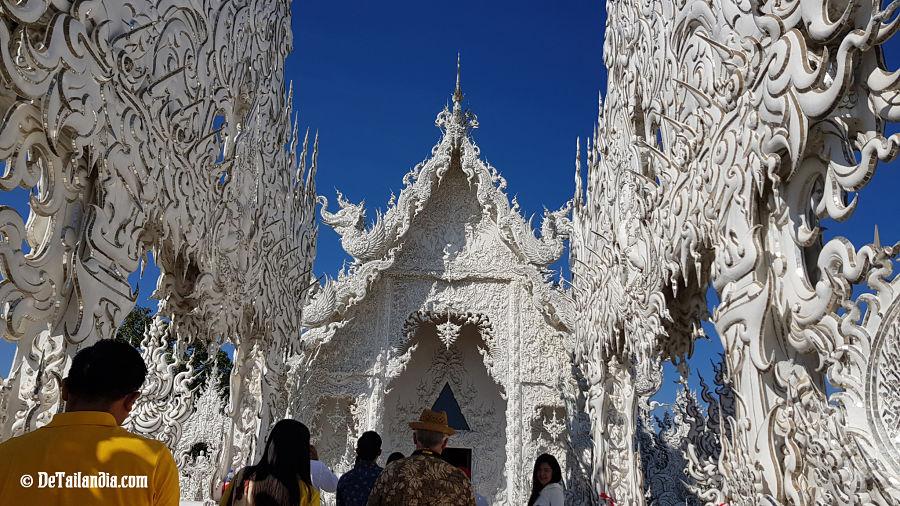 Visita al Templo Blanco de Chiang Rai - Wat Rong Khun