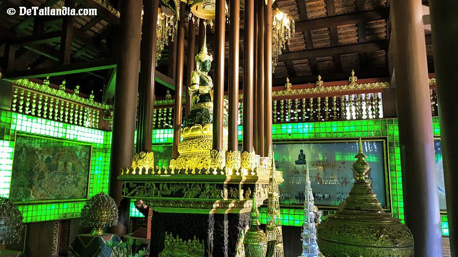 Visitar el Buda Esmeralda de Chiang Rai