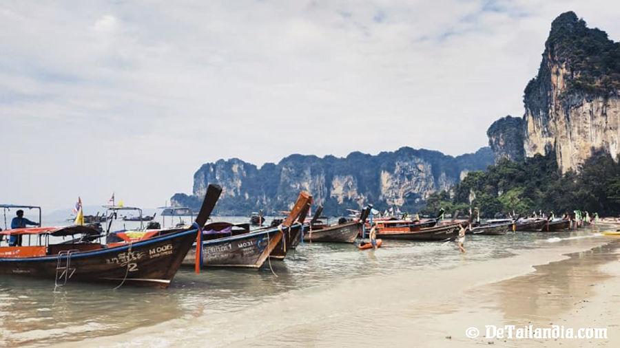 Barcas en Koh Lanta