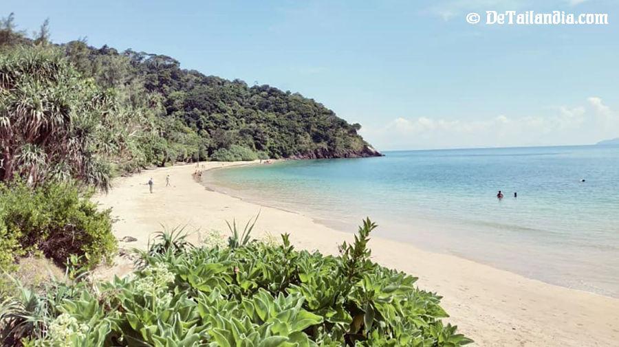 Día de playa en Koh Lanta