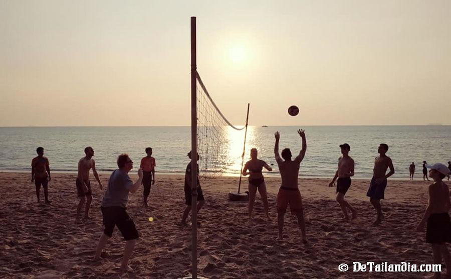 Deporte en Koh Lanta