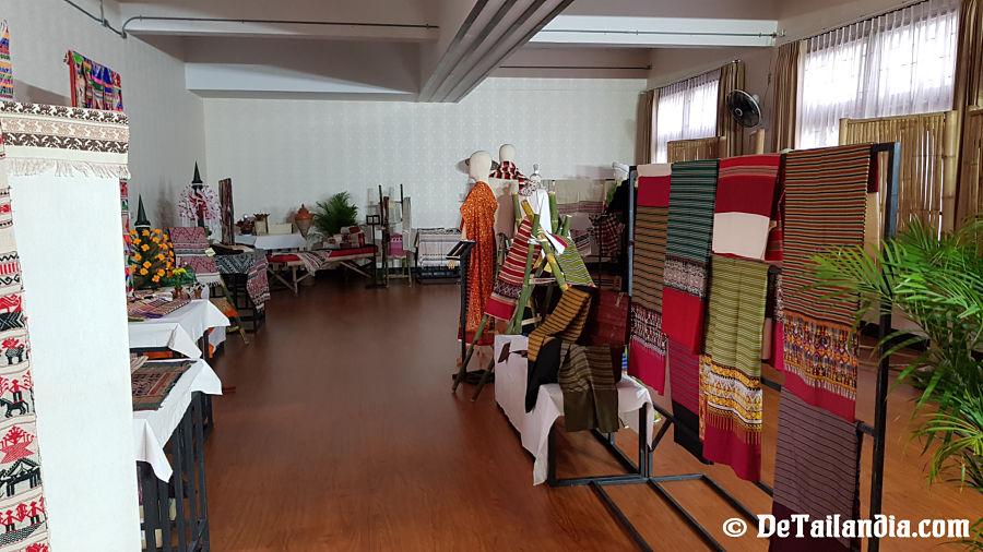 Interior del Museo de Lampang