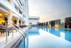 Hotel con piscina en Ayutthaya