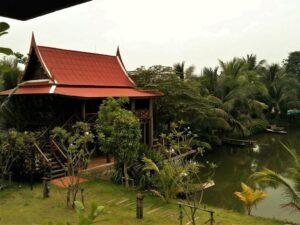 Hotel con jardín en Ayutthaya