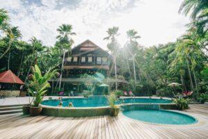 Resort en Kanchanaburi